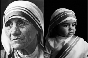 Olivia Martinez as Mother Teresa Mother Teresa-a Noble Peace Prize laureate whose humanitarian efforts have aided people in need worldwide.Her legacy continues.#IsisProjectSA